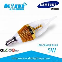 LED蠟燭燈可調光5W