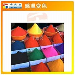 熱敏感溫變色材料