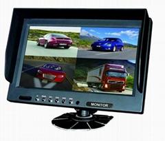 9 inch car quad monitor