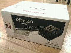 DJ MIxer Original Pio - neer DJM-350W Bundle