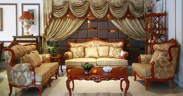 布艺沙发 1