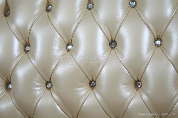 欧式实木真皮沙发 3