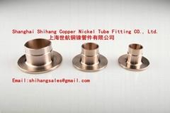 Copper Nickel Stub end Flange EEMUA 145/ANSI B16.5