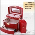 精美皮质珠宝首饰盒 2