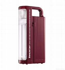 rechargeable emergency light 6V  220lumens output work time reach to 10 hours