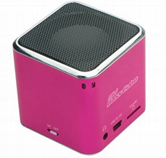 Bluetooth mini bass cube speaker