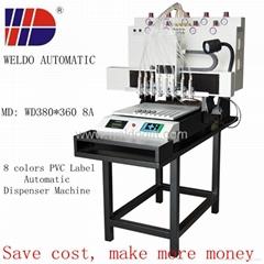 Weldo PVC Label Automatic Dispenser Machine