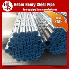4 inch inside diameter Galvanized Carbon Steel Round Pipe thickness 6.02mm
