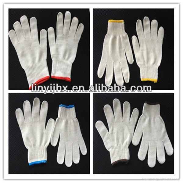 High quality cotton knitted gloves  2
