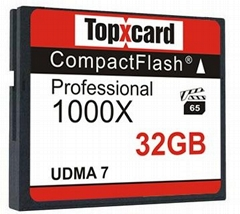 Super Stability Compact Flash Card 32GB UDMA 7 150MB/S work SLR 1000x CF Memory