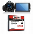 Super Stability Compact Flash Card 32GB UDMA 7 150MB/S work SLR 1000x CF Memory 2