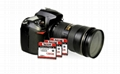 Super Stability CF Memory Card 128GB 1000x UDMA 7 150MB/S work SLR Compact Flash 4