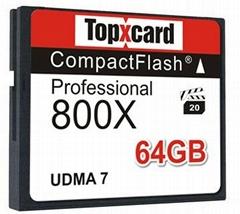 Lifetime Warranty UDMA 7 64GB Compact Flash Card 800x 130MB/S camera cf high spe