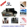 ultrasonic african fabric cutting