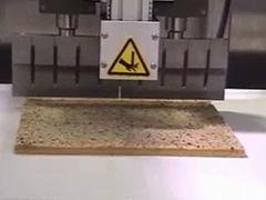 ultrasonic rice cake cutting machine