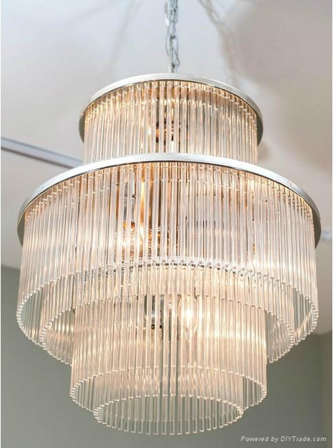 nickel plated diy crystal chandelier by lightolier pcp 1698 43006