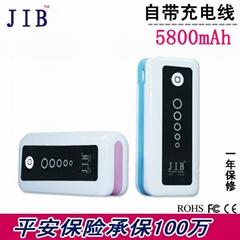 5800毫安移动电源