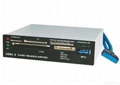 3.5 inch USB 3.0 internal Card Reader /
