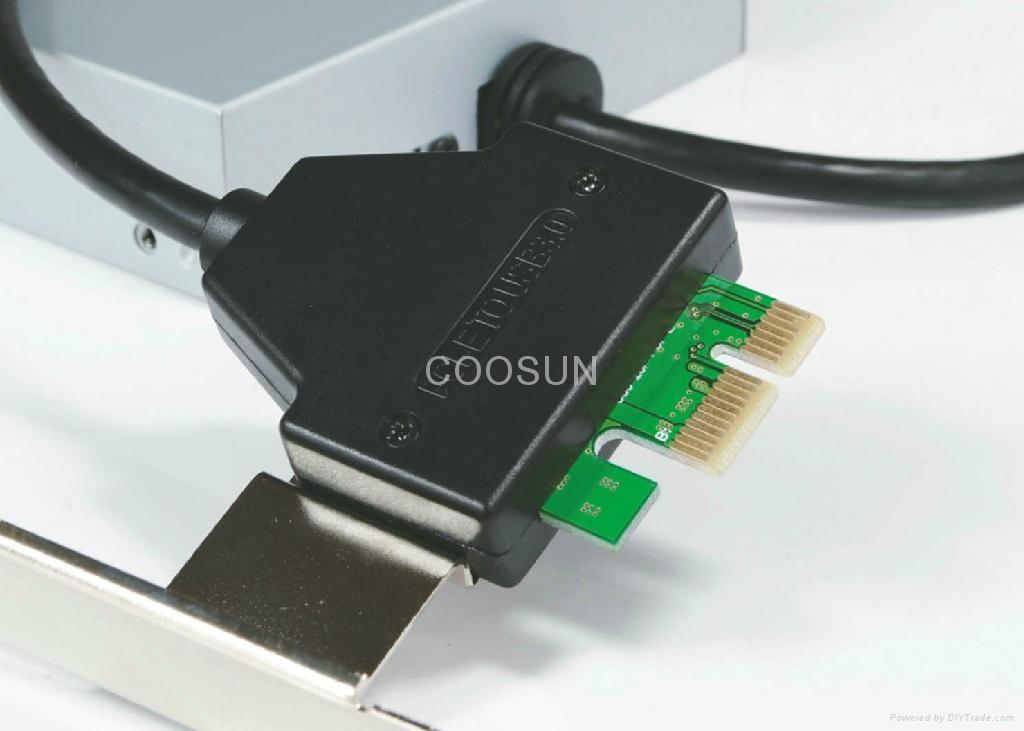 "PCI-E To USB 3.0 Internal Combo 3.5"" Internal USB 4-Port HUB+USB 2.0 card reader 2"