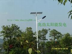 雙頭太陽能路燈