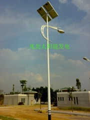 30W太陽能路燈