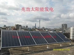 Solar electric complementary power generation system