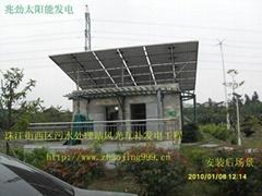 風光互補太陽能發電系統