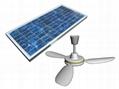 太阳能吊扇