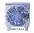 Solar electric fan 2