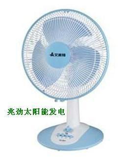 Solar electric fan 3