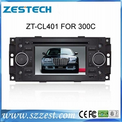 4 inch touch screen car dvd gps for Chrysler 300C