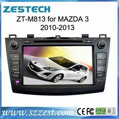 ZESTECH Double Din Digital car dvd player for mazda 3 New