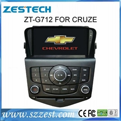 ZESTECH Best selling car dvd player for Chevrolet Cruze with Steering Wheel