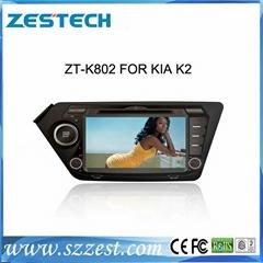 ZESTECH central multimedia car dvd for Kia k2