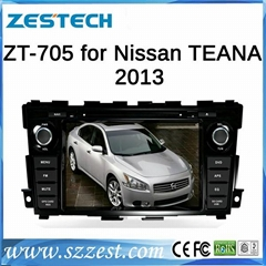 ZESTECH car dvd player with gps for Nissan TEANA 2013