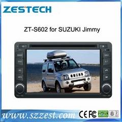 ZESTECH HD touch screen car dvd gps for SUZUKI Jimmy with car radio