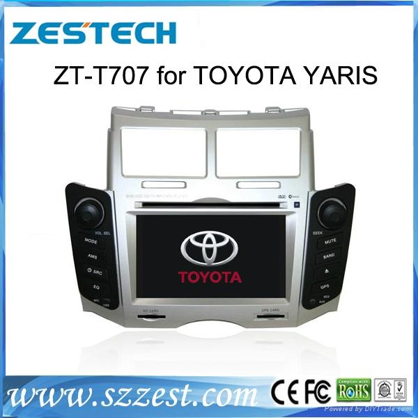 ZESTECH car gps navigation car dvd player for TOYOTA YARIS  1