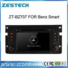 ZESTECH car dvd player for Benz Smart with radio gps navi, digital tv
