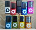 5th nano style MP3 Player MP4 Player with camera/click  2