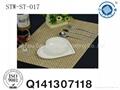 textilene woven pvc placemat 4*4