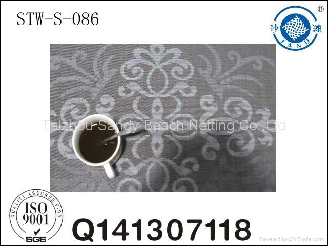 jacquard table pad placemats 3