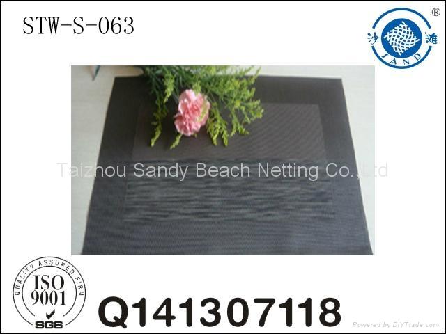 jacquard table pad placemats 4