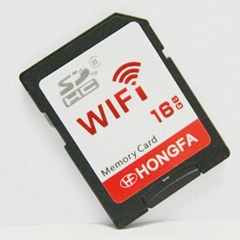 Wireless 16GB WiFi Micro SD Card Also as Readser (HF-WS01)