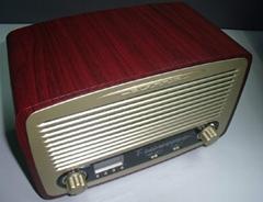 Retro Multi Function Alarm Clock Radio Hf-Rk18