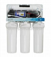 欧琳家用纯水机直饮五级过滤50Z1