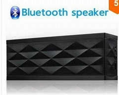 Jambox style portable high quality mini bluetooth Speaker stereo,
