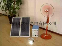 500W solar power system for home use