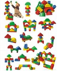 ABS brick toy