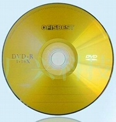 Blank DVD+/-R 16X 4.7GB 120Minutes Playing time si  er with purple color