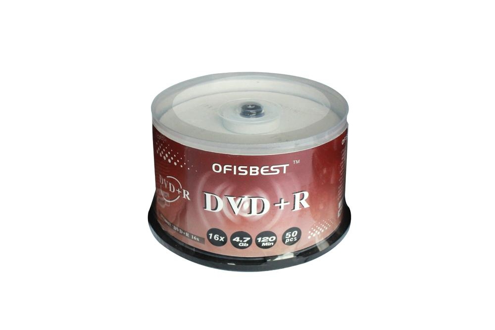 Blank DVD+/-R 16X Record speed 4.7GB storage capacity 120minutes playing time 1